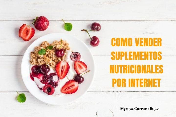 Como vender suplementos nutricionales Online